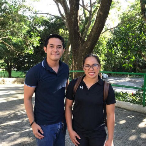 Photo with Ms. Hidilyn Diaz after her talk